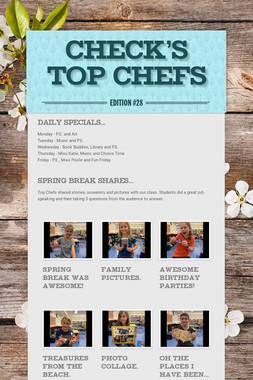 Check's Top Chefs