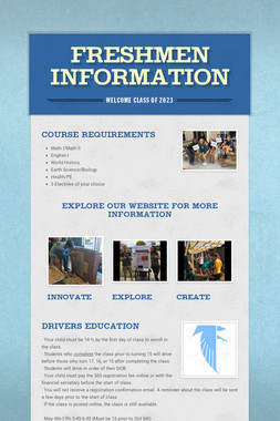 Freshmen Information