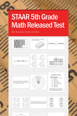 STAAR 5th Grade Math Released Test