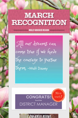 MARCH RECOGNITION