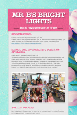 Mr. B's Bright Lights