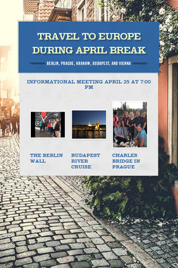 Travel to Europe During April Break