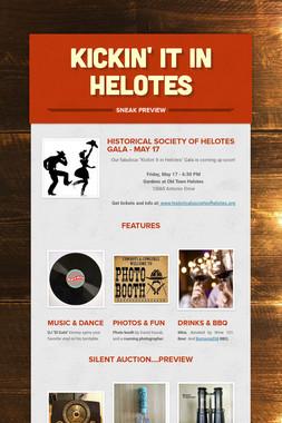 Kickin' It  in Helotes