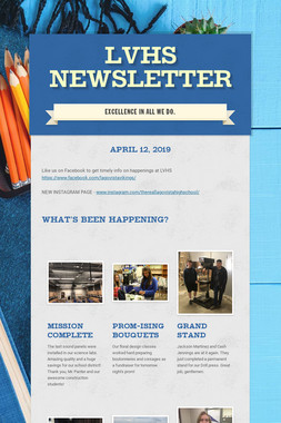 LVHS Newsletter