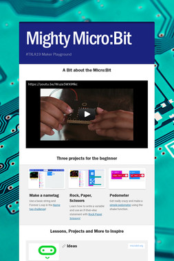 Mighty Micro:Bit