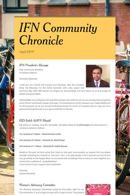 IFN Community Chronicle