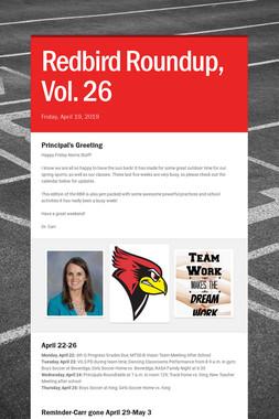 Redbird Roundup, Vol. 26