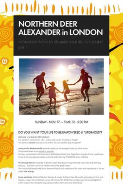 NORTHERN DEER ALEXANDER in LONDON