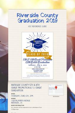 Riverside County Graduation 2019