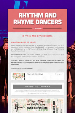 Rhythm and Rhyme Dancers