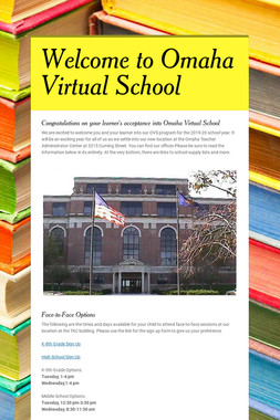 Welcome to Omaha Virtual School