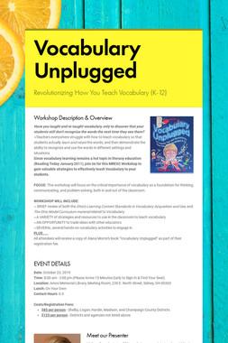 Vocabulary Unplugged