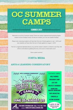 OC Summer Camps