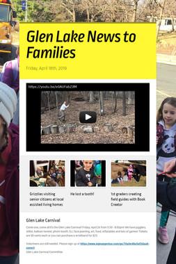 Glen Lake News to Families