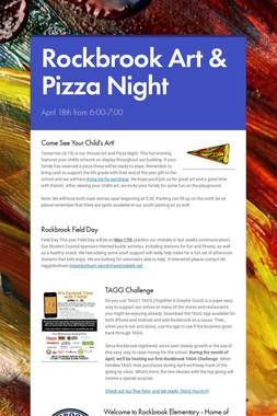 Rockbrook Art & Pizza Night