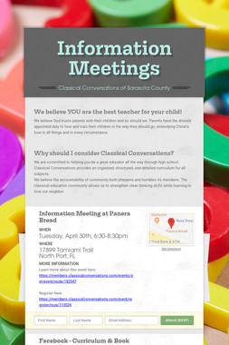 Information Meetings