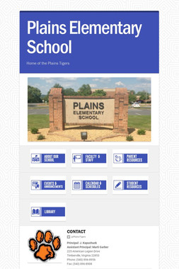 Plains Elementary School