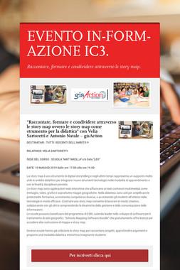 EVENTO IN-FORM-AZIONE IC3.