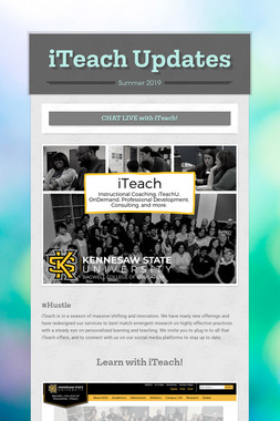 iTeach Updates