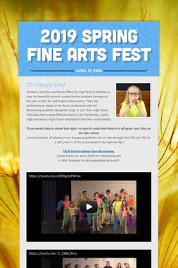 2019 Spring Fine Arts Fest