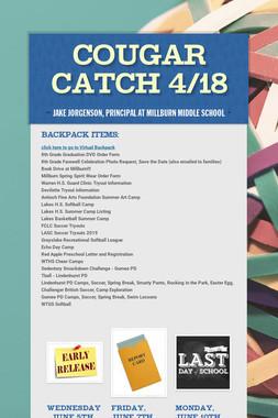 Cougar Catch 4/18