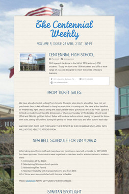 The Centennial Weekly