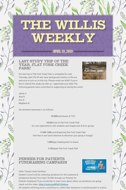 The Willis Weekly