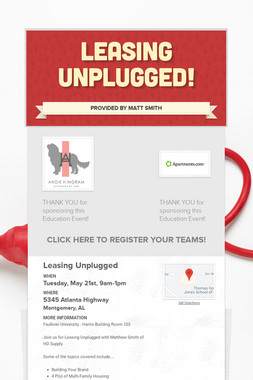 Leasing Unplugged!