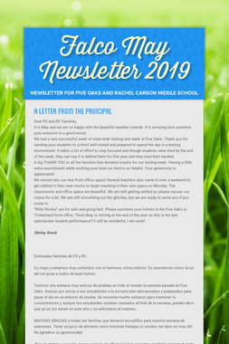 Falco May Newsletter  2019