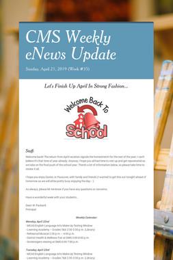 CMS Weekly eNews Update