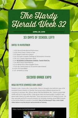 The Hardy Herald Week 32