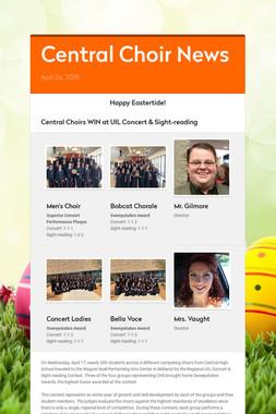 Central Choir News