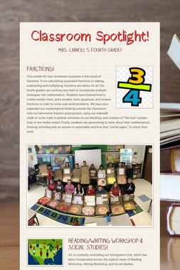 Classroom Spotlight!