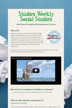 Studies Weekly Social Studies