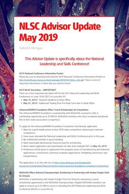 NLSC Advisor Update May 2019