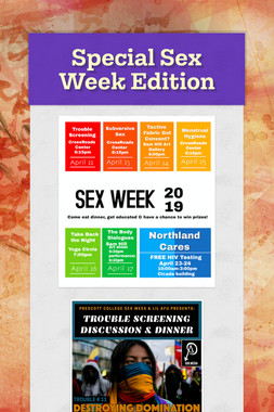 Special Sex Week Edition