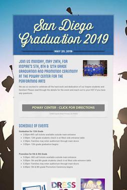 San Diego Graduation 2019