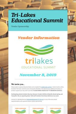 Tri-Lakes Educational Summit