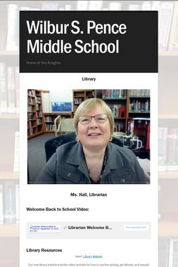 Wilbur S. Pence Middle School