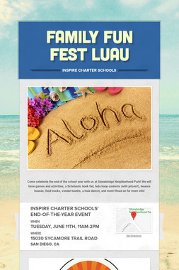Family Fun Fest Luau