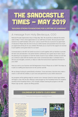 The Sandcastle Times - May 2019