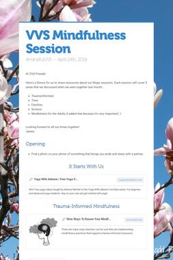 VVS Mindfulness Session