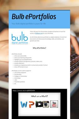 Bulb ePortfolios