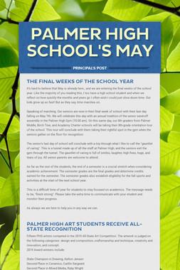 Palmer High School's May