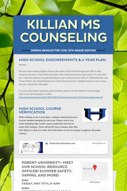 Killian MS Counseling