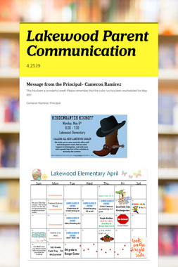 Lakewood Parent Communication