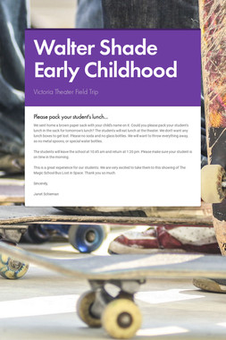 Walter Shade Early Childhood