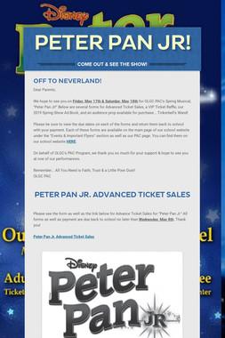 Peter Pan Jr!
