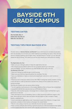 Bayside 6th Grade Campus