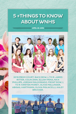 5 +Things to Know about WNHS